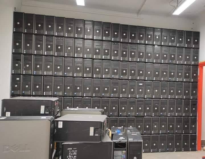 Komputery w nowym lokalu